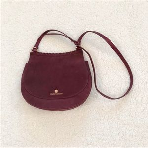 Vince Camuto Aiko suede cross body